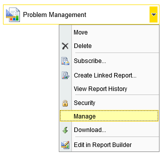 Report - Manage