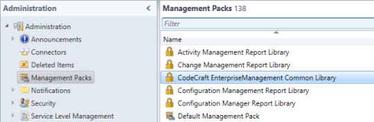 SCSM Advanced Portal - Delete CodeCraft MP