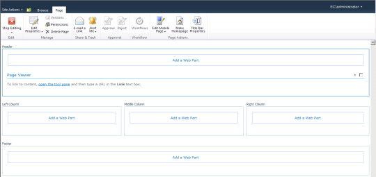 SCSM Dashboards - 10 - Open The Tool Pane