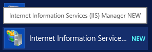 Launch IIS Manager