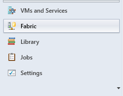 SCVMM - Create Host Group - Fabric