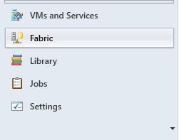 SCVMM - Create Host Group - Fabric