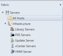 SCVMM - Create Host Group - Servers (All Hosts)