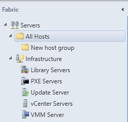 SCVMM - Expand All Hosts