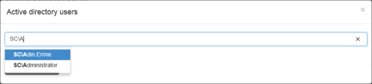 SMTrak - Access Permissions (Add User) - AD Dynamic