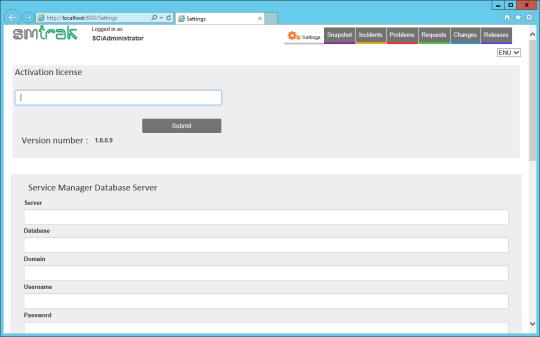 SMTrak - Settings - Activate License (Highlight)