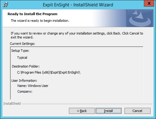 Expit Ensight - 15 - Ready To Install