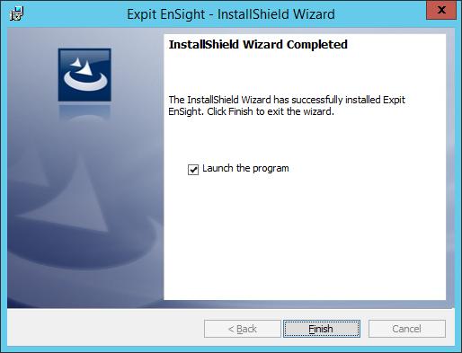 Expit Ensight - 16 - Finish