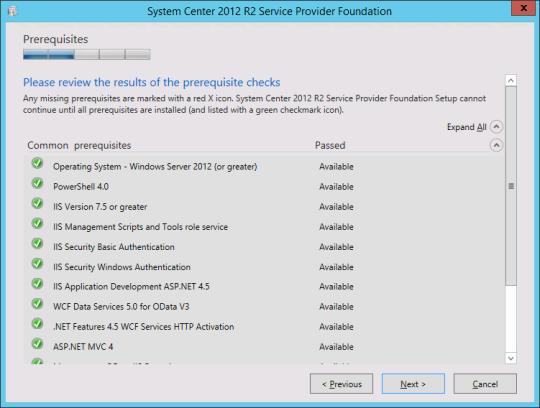 Install SPF - 05 - Prerequisites