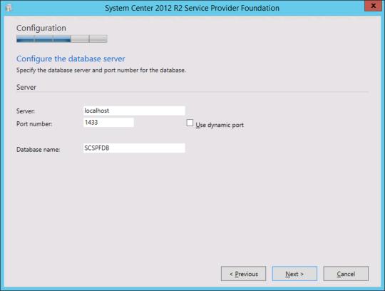 Install SPF - 06 - Configure Database Server