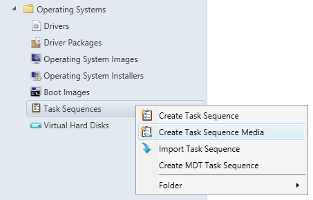 SCCM Boot Media - 02 - Create Task Sequence Media