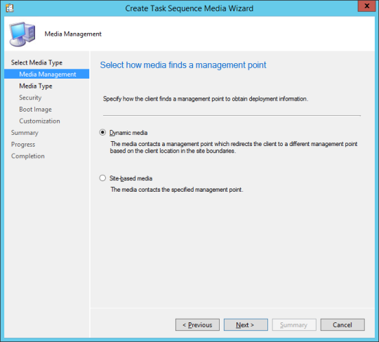 SCCM Boot Media - 04 - Media Management