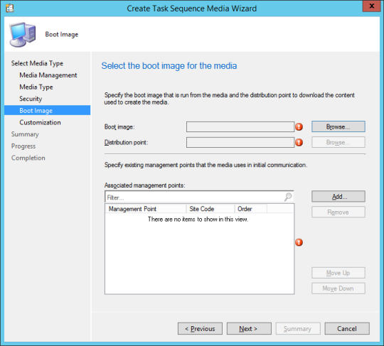 SCCM Boot Media - 07 - Boot Image