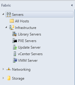 SCVMM Workgroup Host - 12 - Fabric - Servers