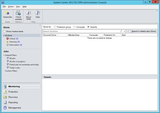 Install DPM12R2 - 13 - DPM Console