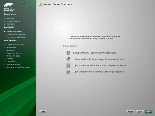 Install SUSE - 06 - Server Scenario