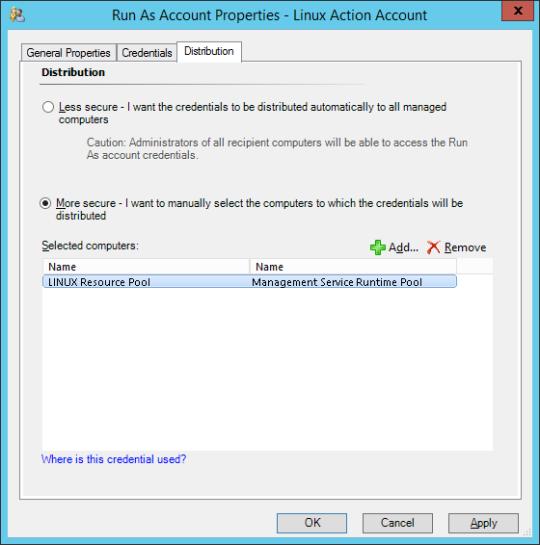 Linux Profiles - 09 - Run As Account Distribution