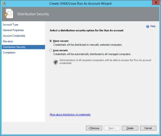 Linux RunAs - 07C - Distribution Security