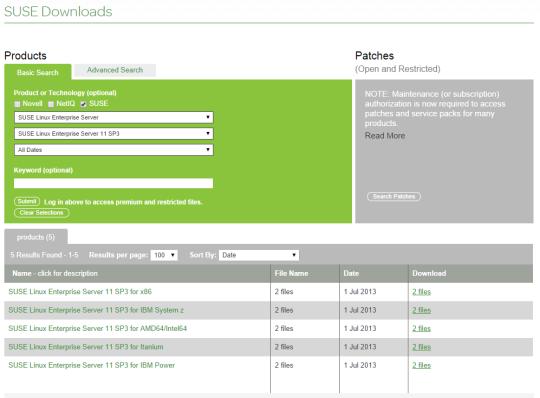 Monitor UNIX - 01 - SUSE Download