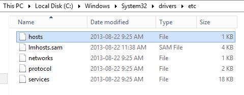 Name Resolution - 01 - Hosts File