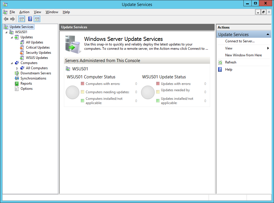 Patching Hyper-V Hosts with SCVMM 2012 R2 - Part 2: WSUS