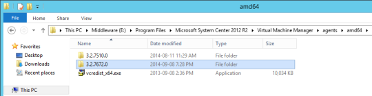 VMM Primeter Host - 04 - Updated Agent Installer
