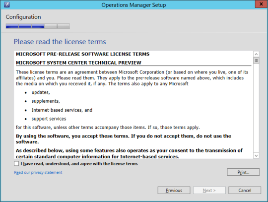 SCOM vNext - 11 - License Terms