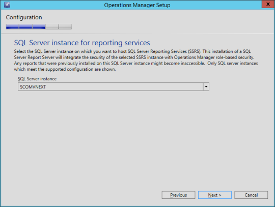 SCOM vNext - 14 - Reporting Services