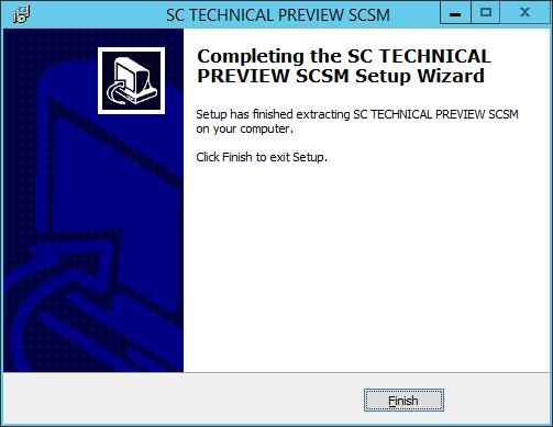 SCSM vNext - 04 - Extract Complete