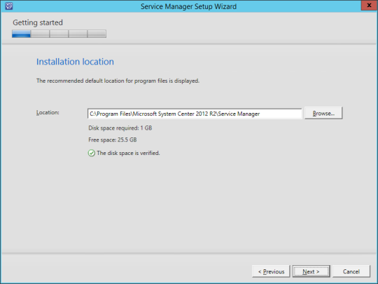 SCSM vNext - 07 - Installation Location
