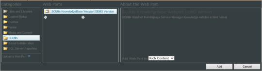 SCUtils KB - 12 - SCUtils KB Web Part