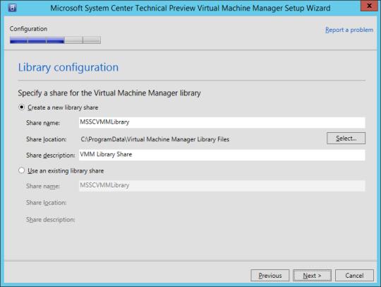 SCVMM vNext - 16 - Library Configuration