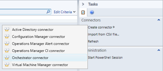 Create Connector - Orchestrator Connector