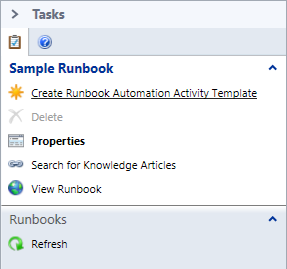 SCSM - Runbook - Create Runbook Automation Activity Template
