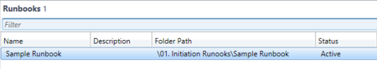 SCSM - Synced Runbooks