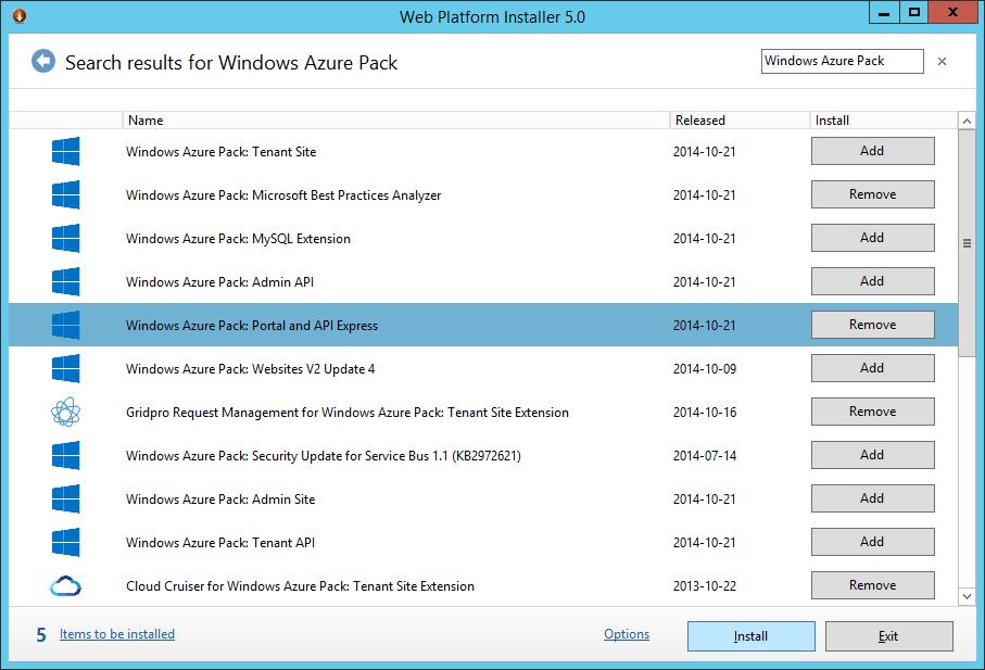 WAP Install - 02 - Portal and API Express