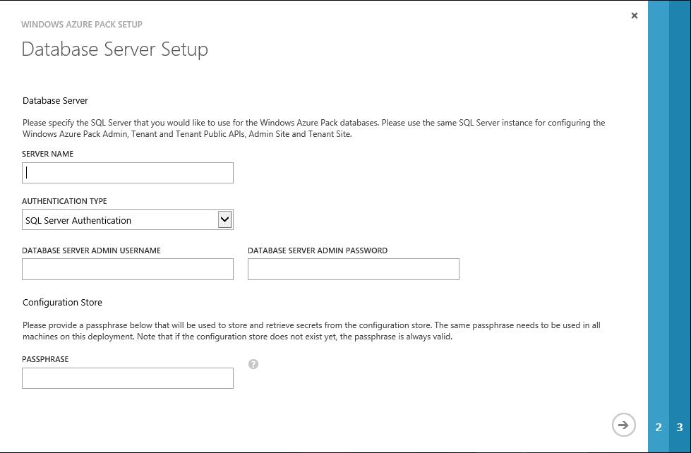 WAP Install - 07 - Database Server Setup